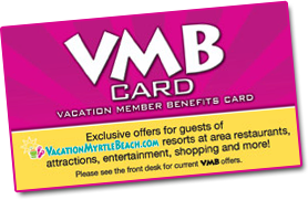 Vacation Myrtle Beach Card