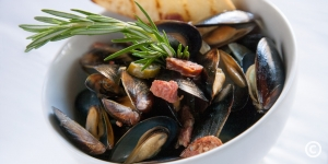 Steamed Mussels at The Caravelle Resort