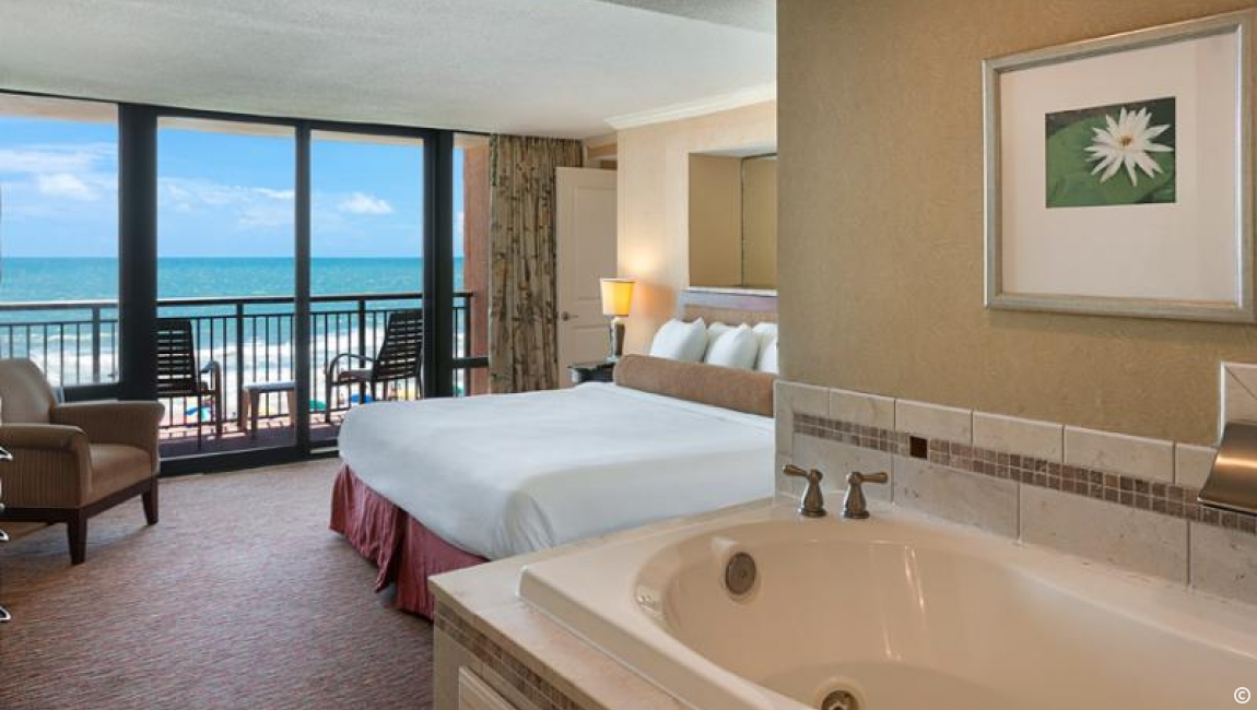 Jacuzzi Suite in Myrtle Beach, SC