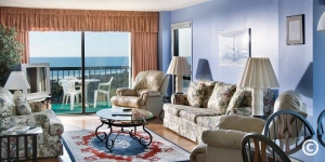 Sea Mark Tower Living Room