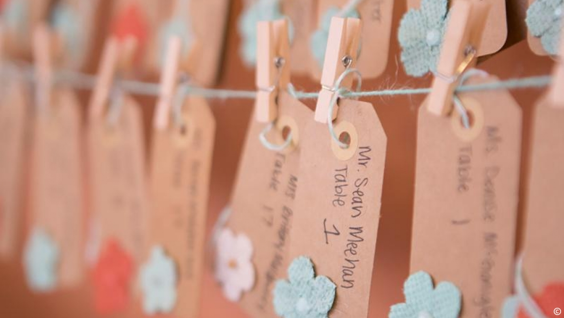Personalized wedding touches