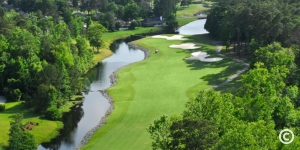 Golf course at River Hills in Myrtle Beach, SC