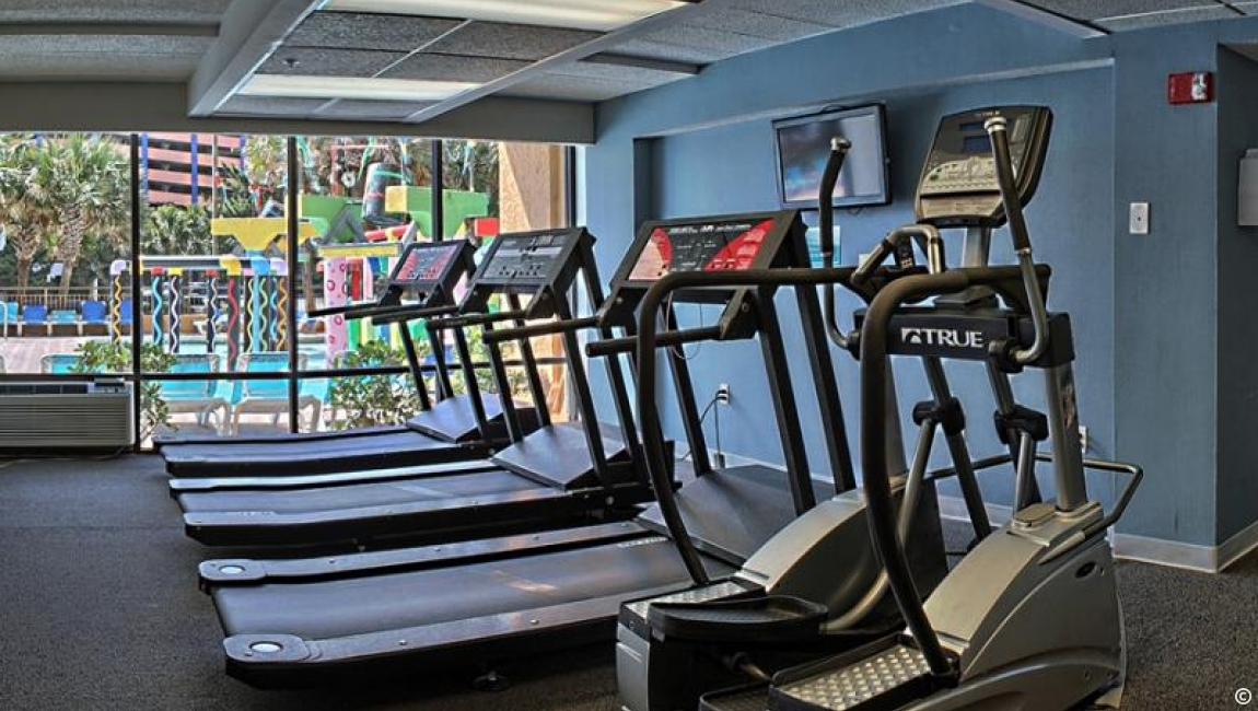 Amenities: Fitness Room