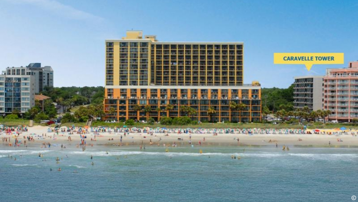 Caravelle Tower in Myrtle Beach