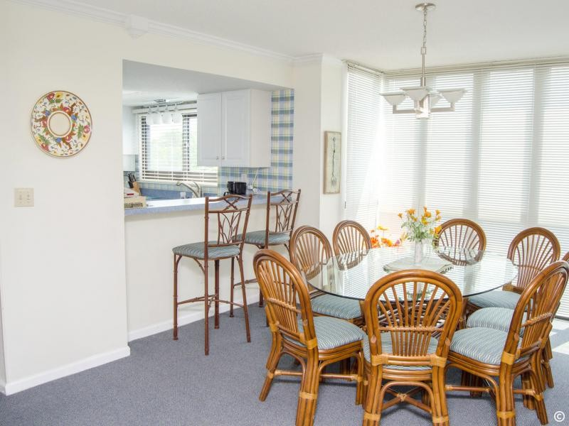 Dining Area in Three Bedroom Three Bathroom Condo