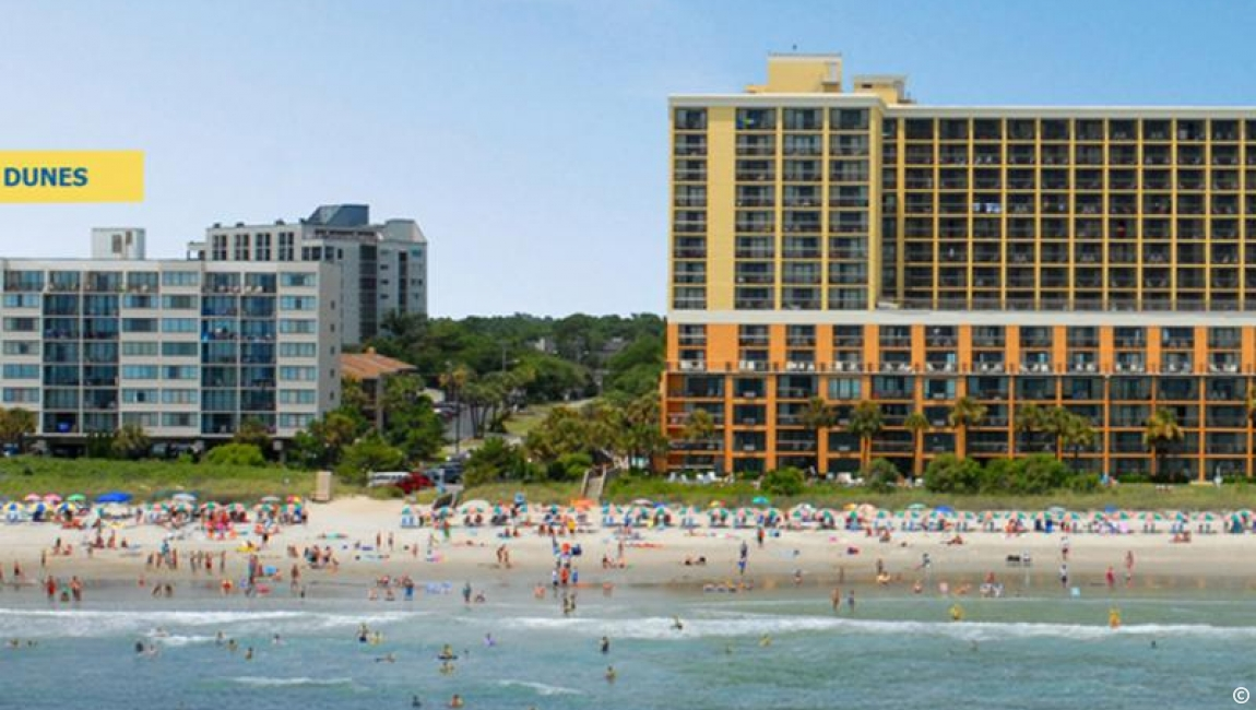 The Caravelle Resort: Carolina Dunes Building