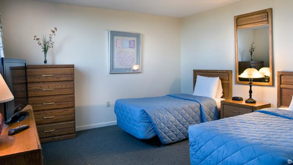 Beds in Carolina Dunes Condo