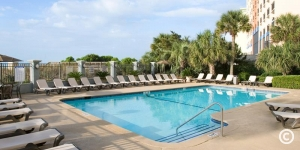 Pool Deck at Carolina Dunes