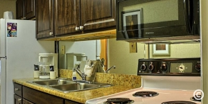 Kitchen in Myrtle Beach Suite