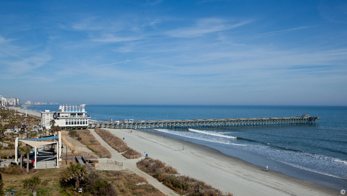 The caravelle resort guide to myrtle beach for Pier fishing myrtle beach