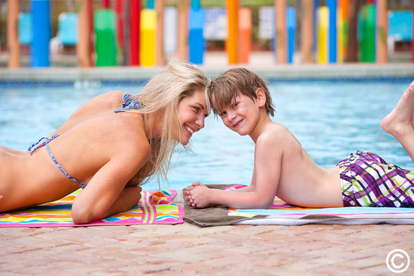 Have fun poolside at Caravelle Resort!