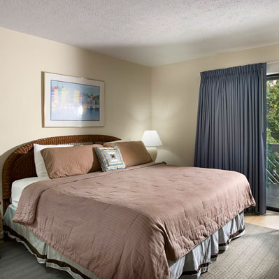 Arbor offers two bedroom units with four twin beds, double sleeper sofa, two bathrooms, full kitchen with dishwasher and washer/dryer.